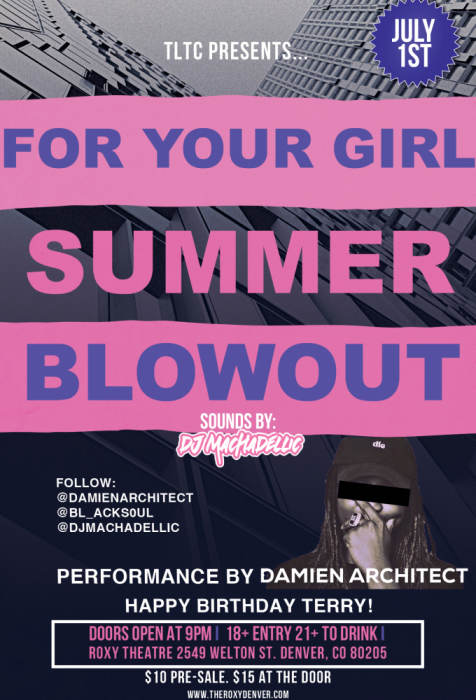 For your Girl Summer Blow Out