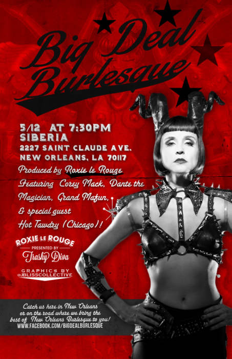 Big Deal Burlesque - EARLY SHOW!!