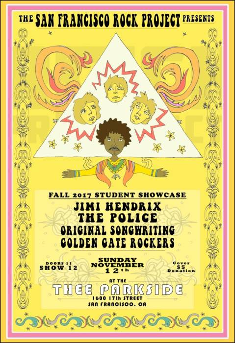 San Francisco Rock Project Presents: A Tribute to Jimi Hendrix, The Police