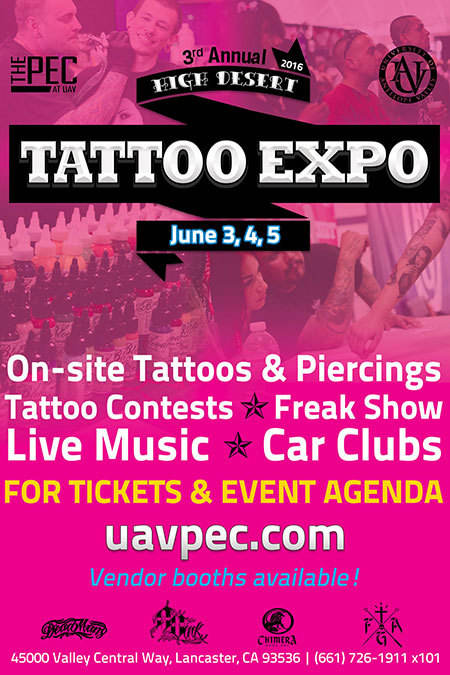 3rd Annual High Desert Tattoo Expo