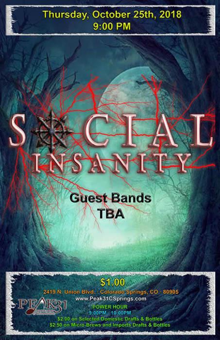 Social Insanity / TBA
