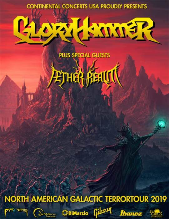 Gloryhammer and ÆTHER REALM