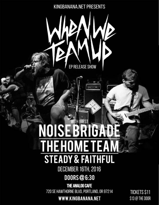 WHEN WE TEAM UP (CD RELEASE SHOW)