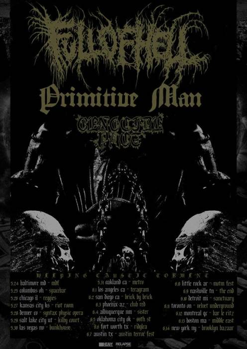 Full of Hell, Primitive Man, Genocide Pact