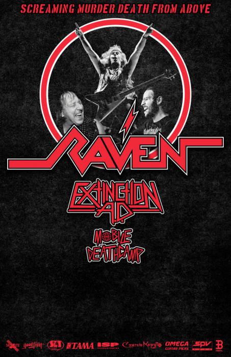 Raven, Extinction A.D., Mobile Deathcamp