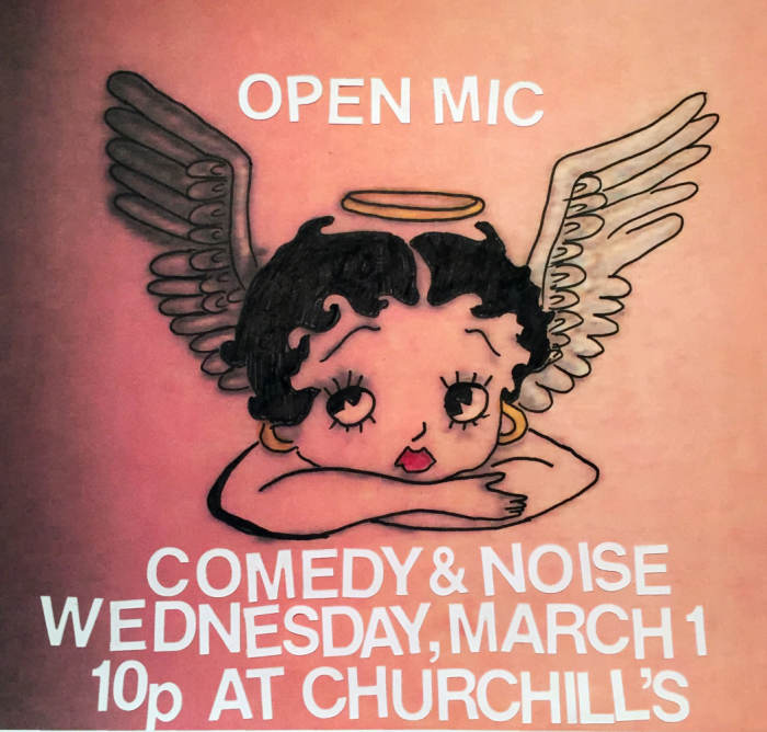 OPEN MIC: A Night of Experimental Comedy & Noise hosted by Kathy Toledo