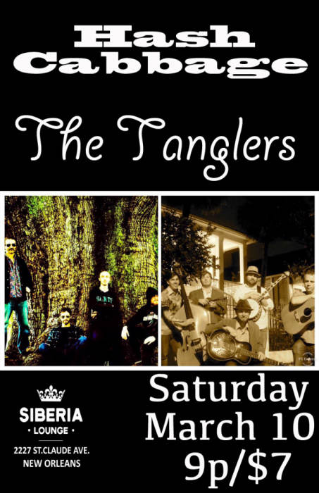 Hash Cabbage, The Tanglers, tba