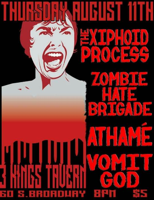 XIPHOID PROCESS / ZOMBIE HATE BRIGADE