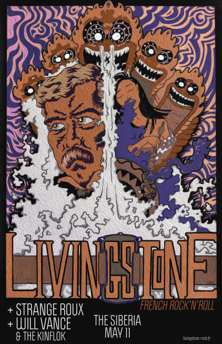 Livingstone (French Rock-N-Roll) | Strange Roux | Will Vance and the Kinfolk