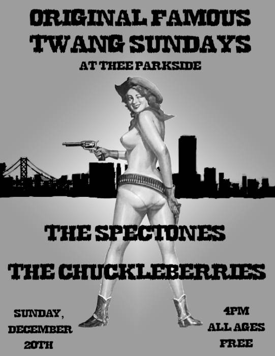 The Spectones, The Chuckleberries