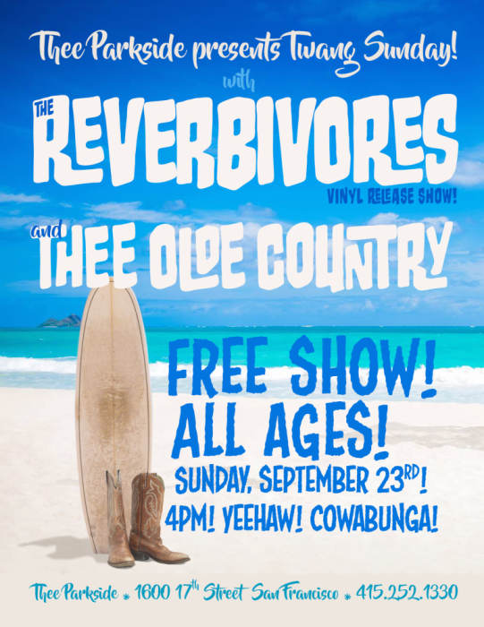 The Reverbivores, Thee Olde Country