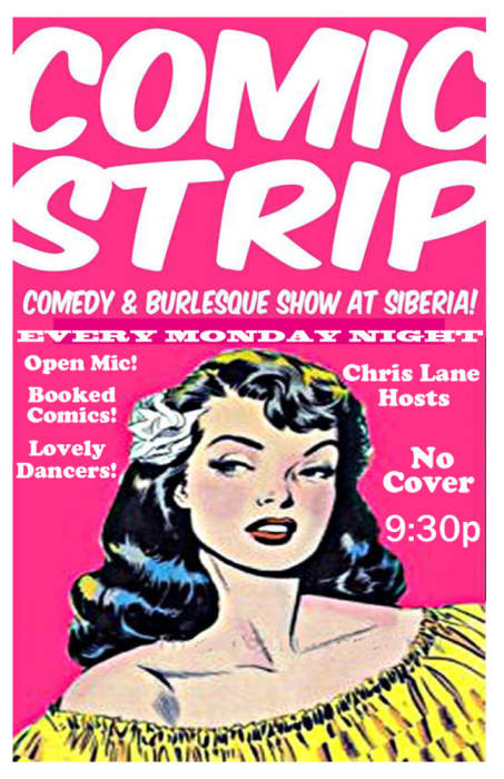 Comic Strip: Comedy and Burlesque