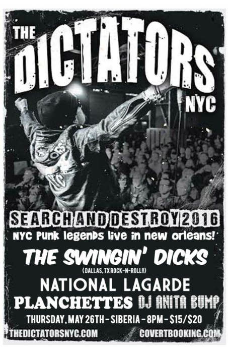 THE DICTATORS NYC | The Swingin