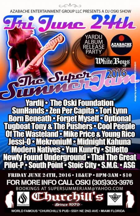 Super Summer Jam 9 at Churchill