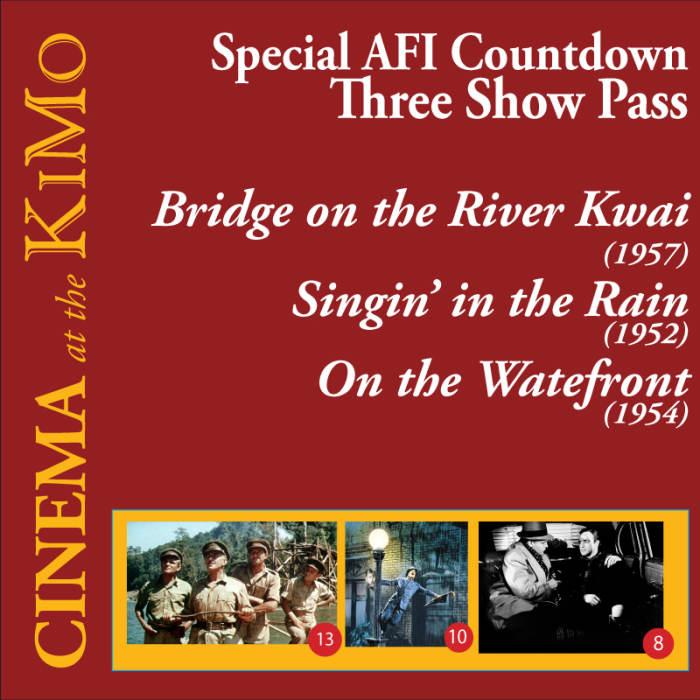 Special AFI 3 Show Pass: