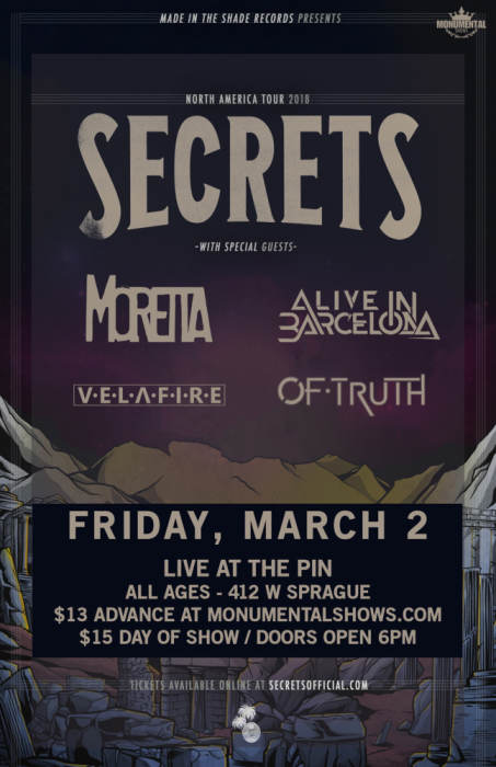 Secrets CD Release Show