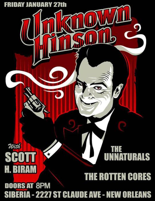 UNKNOWN HINSON | Scott H. Biram | The Unnaturals | The Rotten Cores
