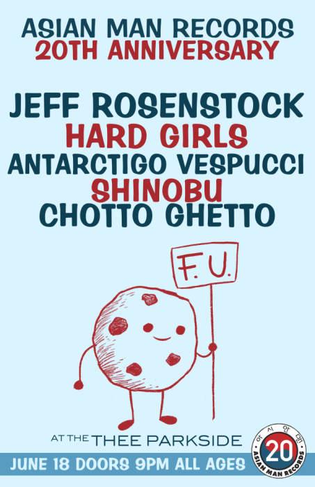 Jeff Rosenstock, Hard Girls, Antarctigo Vespucci, Shinobu, Chotto Ghetto