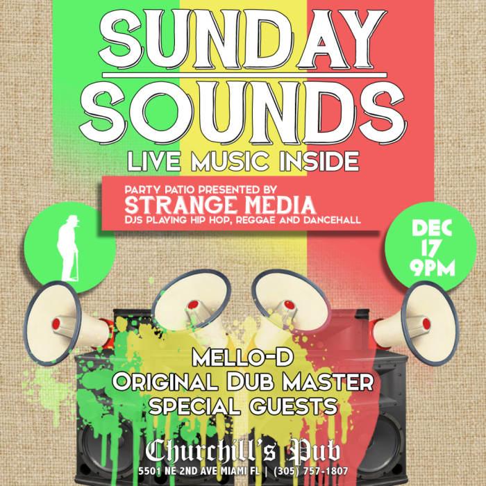 Sunday Sounds with The Ethiopians, Mello-D, Original Dub Master, & Lamebot