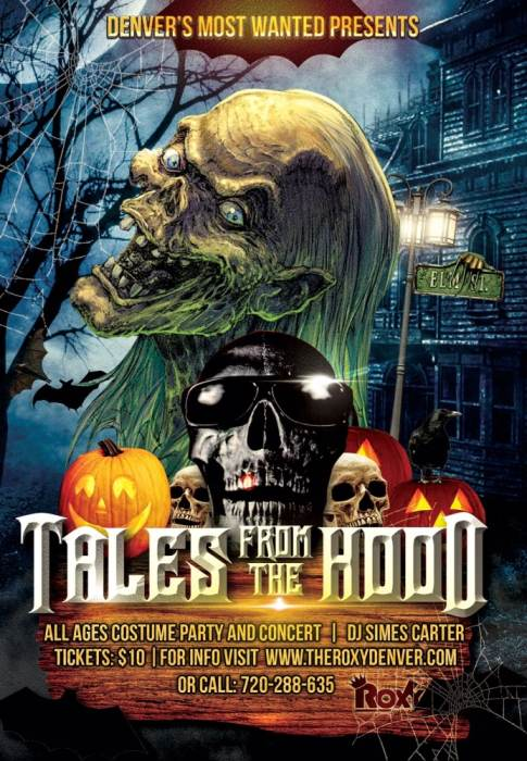Tales From The Hood Costume Party