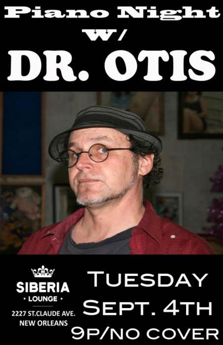 Piano Night: Dr. Otis