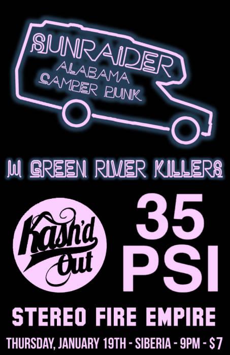 Sunraider | Green River Killers | Kash