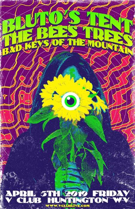 Blutos Tent / The Bees Trees / Bad Keys Of The Mountain