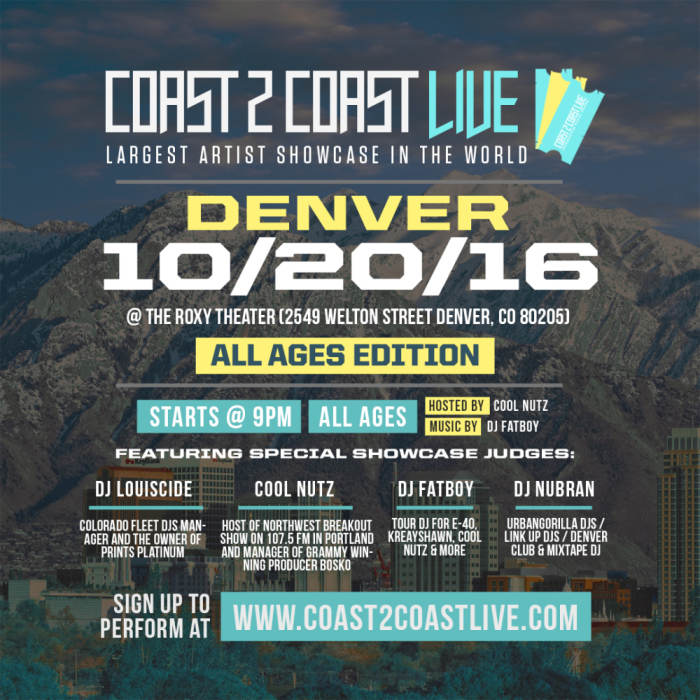 Coast 2 Coast Live Interactive Showcase