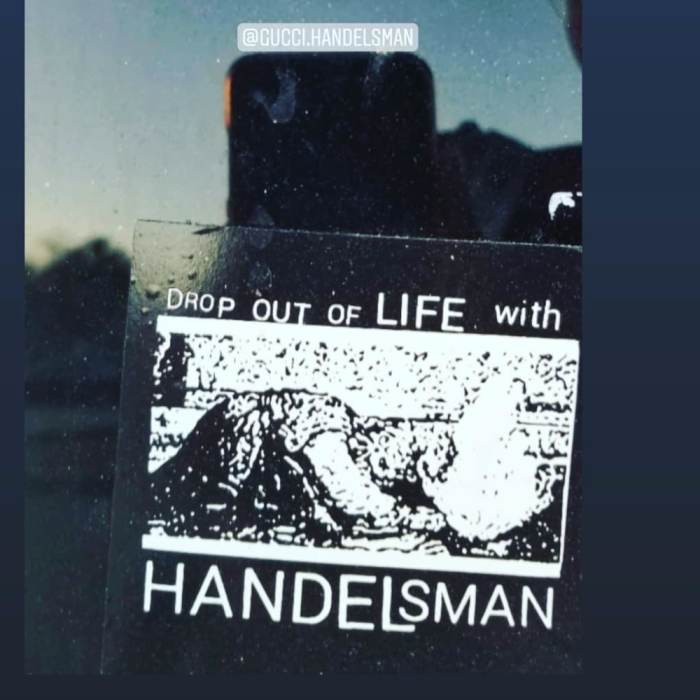 DROP OUT OF LIFE WITH HANDELSMAN, BEAR, AND BRUNO