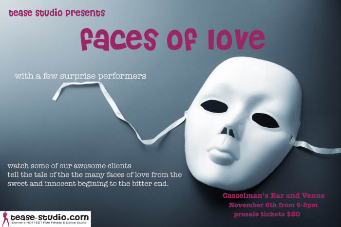 Faces of Love - A Performing Arts Event