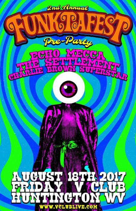 Funktafest Pre-Party W/ Echo Mecca / The Settlement / Charlie Brown Superstar