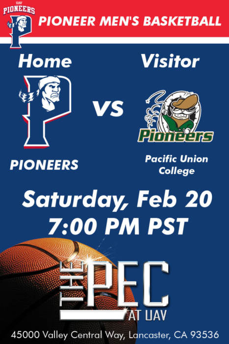 UNIVERSITY OF ANTELOPE VALLEY VS PACIFIC UNION COLLEGE
