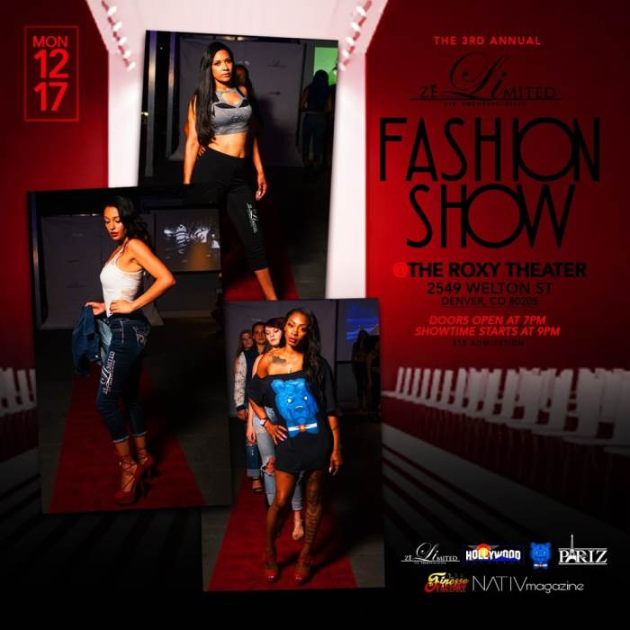 The 3rd Annual Zelimited Fashion Show
