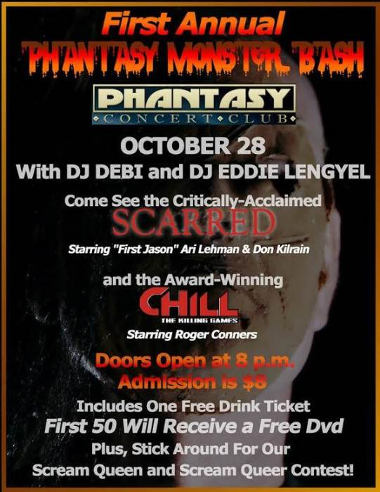 FIRST ANNUAL PHANTASY MONSTER BASH WITH 9 OF CLUBS DJ