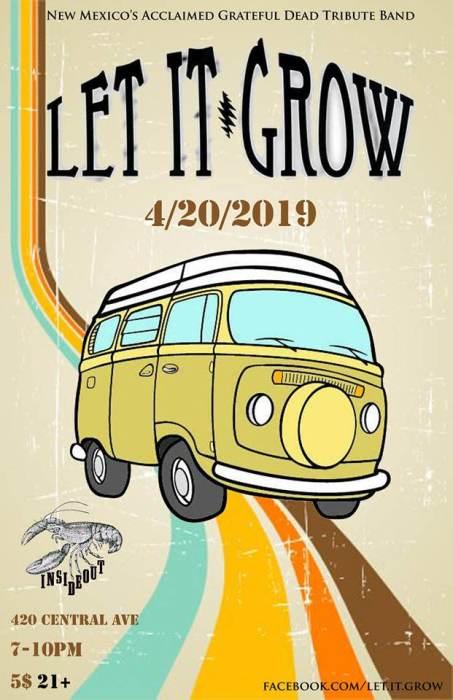 420 Party w/ Let It Grow:Grateful Dead Tribute Band