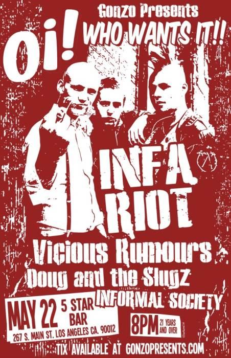 INFA-RIOT , Vicious Rumours