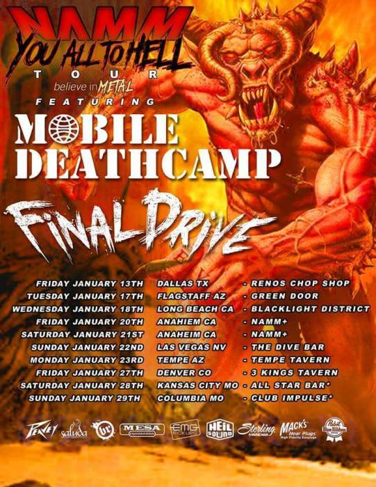 MOBILE DEATH CAMP / FINAL DRIVE