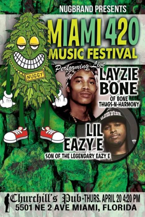MIAMI 420 MUSIC FESTIVAL with Layze Bone & Lil Eazy-E