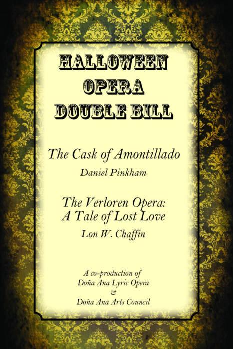 Halloween Opera Double Bill