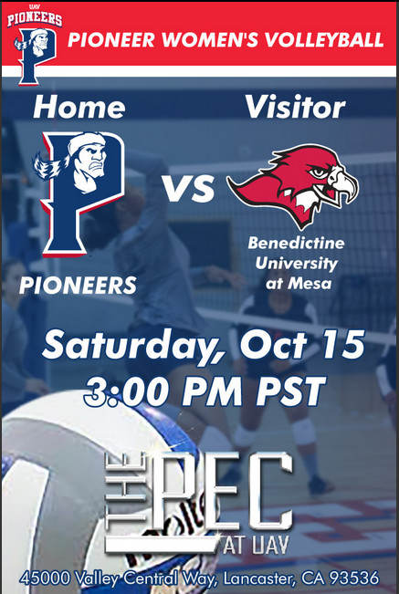 UNIVERSITY OF ANTELOPE VALLEY vs BENEDICTINE-MESA