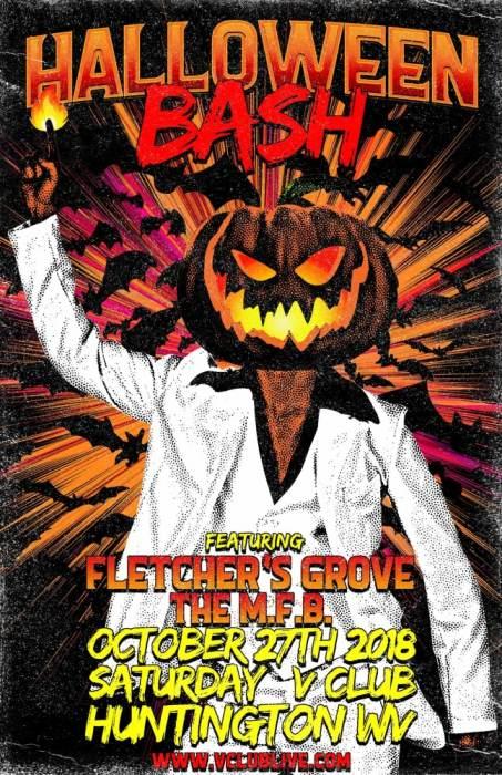 Halloween Bash wth Fletchers Grove & The M.F.B.