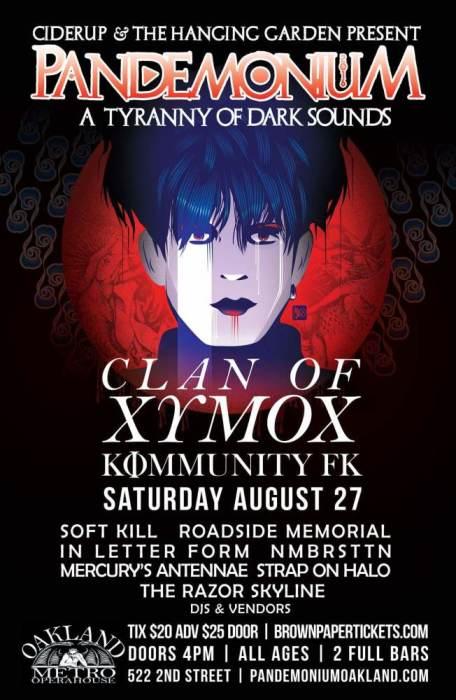 PANDEMONIUM 2016 - feat. Clan of Xymox & Soft Kill