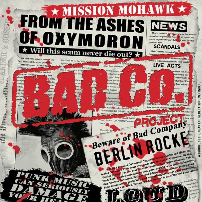 Bad Co. Project (Oxymoron), Monster Squad, CRIM (Tarragona)