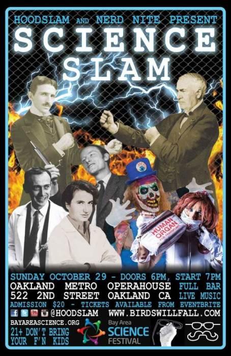 Nerd Nite and Hoodslam: SCIENCE-Slam!