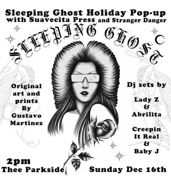 Sleeping Ghost Holiday Pop Up