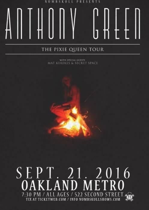 Anthony Green, Mat Kerekes, Secret Space
