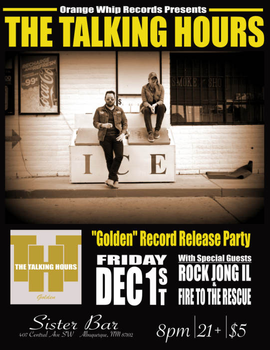 Talking Hours Record Release Party