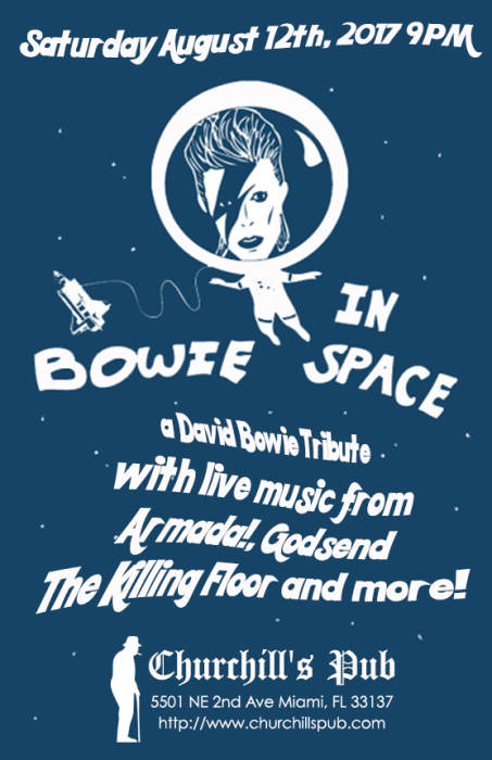 Bowie in Space with Armada!, Godsend, & The Killing Floor