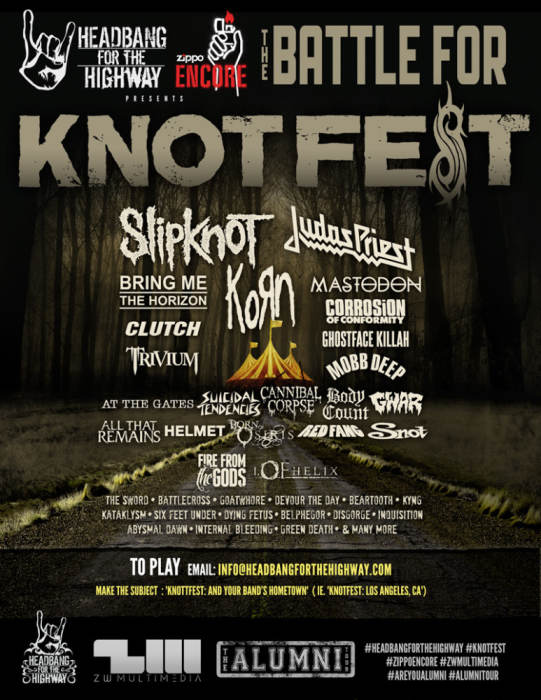 BATTLE FOR KNOTFEST w/