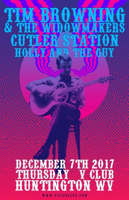 Tim Browning & the Widow Makers / Cutler Station / Holly and the Guy